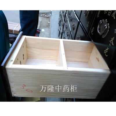 新品出口柞木中药柜A-110